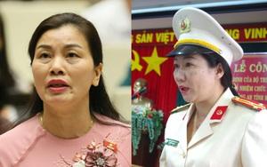 Chân dung 2 nữ công an vừa trúng cử đại biểu Quốc hội khoá XV