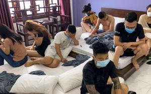 Bắc Ninh: Bắt quả tang 11 thanh niên thuê phòng bay lắc trong đêm