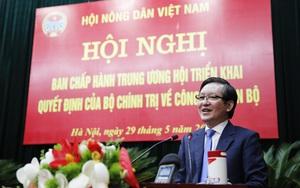 Ủy viên Trung ương Đảng, Chủ tịch Hội Nông dân Việt Nam Lương Quốc Đoàn trúng cử đại biểu Quốc hội khóa XV