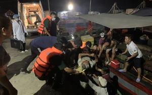 TT-Huế: Xà lan đâm chìm tàu cá, 1 ngư dân trọng thương