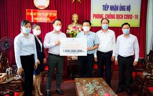 Đất Xanh Miền Trung: Ủng hộ 3 tỷ đồng cho Quỹ vaccine phòng chống Covid-19