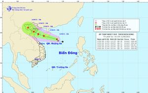 Thời điểm thi vào lớp 10 ở Hà Nội có nguy cơ mưa to do ảnh hưởng của áp thấp nhiệt đới