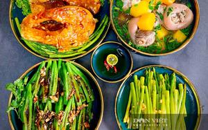 Mẹ đảm Sài Gòn gợi ý loạt mâm cơm vừa dễ nấu vừa tăng cường sức khỏe mùa dịch