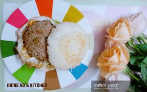 """""""Hambuger phiên bản Việt"""", món ngon tuyệt vời từ.... cơm nguội"""