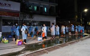 Bắc Giang tiếp tục chuyển hàng trăm công nhân ra khỏi ổ dịch thôn Núi Hiểu trong đêm
