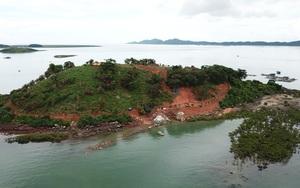 Móng Cái (Quảng Ninh): Hòn Đầu Sơn bị phá trơ trọi