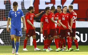 Xem trực tiếp xứ Wales vs Thụy Sĩ trên VTV6