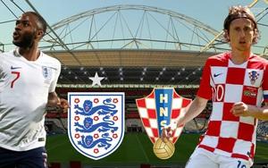Xem trực tiếp Anh vs Croatia trên kênh nào?