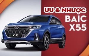 Xe Trung Quốc Baic X55 2021 siêu rẻ nhưng...