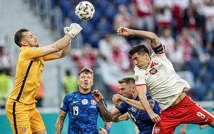 Kết quả, BXH EURO 2020 ngày 15/6: Lewandowski mờ nhạt, Ba Lan thua Slovakia