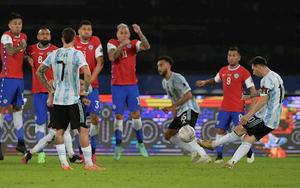 Kết quả, BXH Copa America 2021 ngày 15/6: Messi ghi bàn, Argentina vẫn bị Chile chia điểm