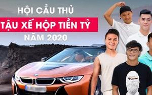 """7 tuyển thủ Việt Nam sở hữu """"xế hộp"""" tiền tỷ: 6 người không bằng 1"""