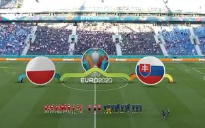 """Highlight Ba Lan vs Slovakia (1-2): Chiếc thẻ đỏ """"định mệnh"""" đầu tiên của Euro 2020"""