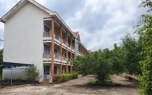 Cận cảnh ngôi trường cấp 3 hàng tỷ đồng bỏ hoang ở tỉnh nghèo