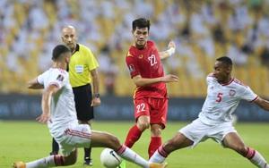 Hình ảnh đáng nhớ về tinh thần chiến đấu tuyệt vời của đội tuyển Việt Nam trước UAE
