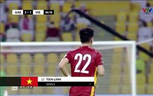 Ghi bàn vào lưới UAE, Tiến Linh cân bằng kỷ lục suốt 20 năm của huyền thoại Nguyễn Hồng Sơn