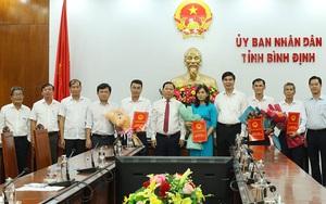 Bình Định bổ nhiệm nhiều lãnh đạo cấp Sở