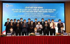 EVN ký kết gói thầu trị giá hơn 30 tỷ đồng của Dự án Nhà máy Nhiệt điện Quảng Trạch I