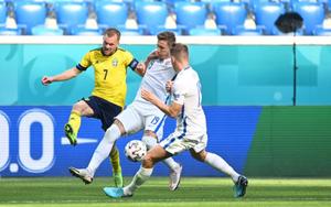 Kết quả, BXH EURO 2020: Vượt khó thành công, Thụy Điển đánh bại Slovakia