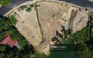 Vĩnh Phúc: Hồ thủy lợi Làng Hà bị xâm lấn nghiêm trọng