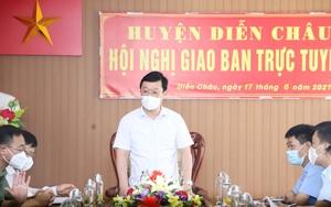 Chủ tịch UBND tỉnh Nghệ An Nguyễn Đức Trung cảm ơn Bộ Tư lệnh Quân khu 4