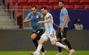 Kết quả, BXH Copa America 2021: Messi tịt ngòi, Argentina vẫn thắng Uruguay
