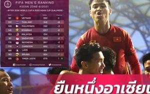 Báo Thái Lan sốc khi đội nhà kém ĐT Việt Nam 30 bậc trên BXH FIFA