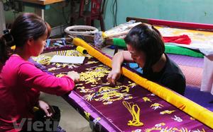 Làng thêu Đông Cứu - ngôi làng thêu long bào duy nhất ở Hà Nội