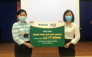 Nutifood và Ông Bầu trao tặng sản phẩm dinh dưỡng trị giá 1,3 tỷ đồng cho CBNV ngành y tế TP.HCM