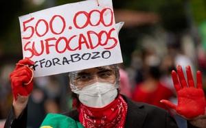 Brazil vượt qua mốc 500.000 người chết vì Covid-19