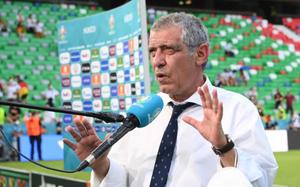 """Bồ Đào Nha thua Đức, HLV Santos quay sang """"dọa dẫm"""" Pháp"""