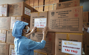 """T&T Group """"tiếp sức"""" 500.000 bộ bơm tiêm vắc-xin Covid-19 cho TP.HCM"""