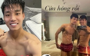 """Các """"nam thần"""" của ĐT Việt Nam """"đốn tim"""" CĐV nữ với cơ bụng 6 múi"""