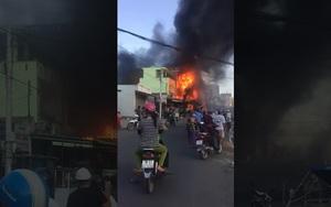Phú Yên: Hỏa hoạn thiêu rụi hoàn toàn Trung tâm điện máy 3 tầng
