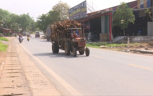"""Xe máy nông nghiệp tự chế tham gia giao thông: """"Hung thần"""" của nhiều vụ tai nạn"""
