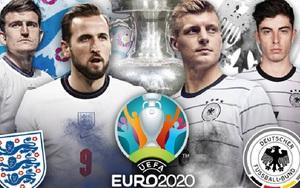 Soi kèo, nhận định tỷ lệ vòng 1/8 EURO 2020: Khó lường Anh vs Đức