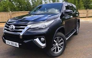 Toyota Fortuner 2018 nhập sau gần 4 năm lăn bánh bán lỗ bao nhiêu?