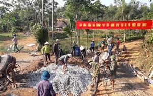Bắc Quang từng bước về đích huyện nông thôn mới