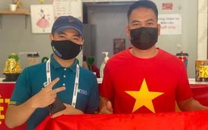 Cảm ơn nhé, CĐV đặc biệt của HPL đã luôn bên cạnh PV Dân Việt trên đất Dubai