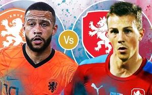 Xem trực tiếp Hà Lan vs CH Czech trên VTV6