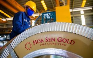 """Sau """"cơn say"""" giá sắt thép, tôn Hoa Sen lãi đột biến hơn 600 tỷ/tháng"""