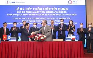 EVN ký thỏa thuận tín dụng 74,7 triệu Euro cho Dự án Thủy điện Ialy mở rộng