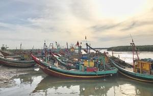 Hàng trăm tàu thuyền ở Nghệ An gác bến vì dịch Covid - 19