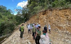Quảng Ngãi: Gần 5.000 m2 rừng, đất rừng bị chiếm phá làm thủy điện nằm ngoài phạm vi cấp phép?