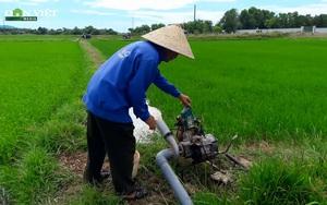Nông dân Hà Tĩnh tích cực chống hạn cho lúa Hè Thu