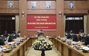 Bàn giao nhiệm vụ Tổng Tham mưu trưởng Quân đội nhân dân Việt Nam