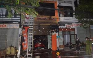 Clip: Hiện trường vụ cháy lớn khiến 4 người tử vong ở Quảng Ngãi