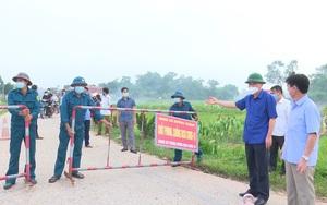 Thái Nguyên: Dỡ bỏ 14 chốt kiểm soát dịch Covid-19 tại xã Dương Thành