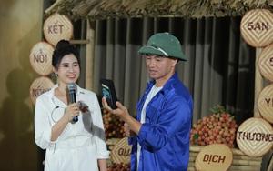 Xuân Bắc đội mũ cối livestream bán vải thiều Lục Ngạn, diễn viên Bảo Thanh lập tức vào chốt đơn 100kg