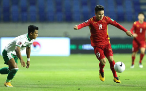"""Xem lại những hình ảnh đáng nhớ trong trận thắng """"4 sao"""" của tuyển Việt Nam trước Indonesia"""